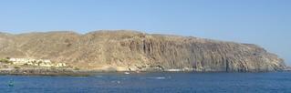 San sebastian de la gomera bay rock
