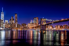 Brooklyn Bridge, New York (reiernilsen) Tags: canon 35mm reiernilsen newyork nyc usa travel photography city urban skyline skyscrapers nightimage night longexposure colors
