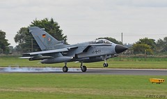 46+55 LUFTWAFFE TORNADO ECR (Apple Bowl) Tags: 4655 panavia tornado luftwaffe german air force ecr tlg51 raf coningsby cobra warrior 2018 eurofighters typhoon