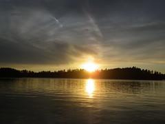 2018-09-09 Last Fishing Trip 8 (s.kosoris) Tags: skosoris pentaxoptiowg1 wg1 pentax huronian camp camping fishing fish lake water sun sunset