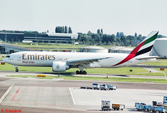 EMIRATES CARGO B777 A6-EFH (Adrian.Kissane) Tags: 35608 amsterdam emirates b777 cargo a6efh