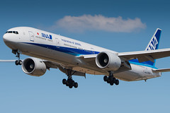 ANA All Nippon Airways / Boeing 777-300ER / JA787A (schmidli123) Tags: london lhr lhrairport boeing heathrow boeinglovers 777 ana allnipponairways ja787a