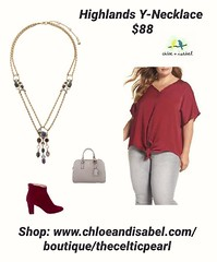 Today's Featured Item: Highlands Y-Necklace $88 Shop: https://www.chloeandisabel.com/boutique/thecelticpearl/products/N663PUG/highlands-y-necklace  Double-layered chain, pavé accents + an on-trend y-necklace silhouette set the scene for this mountain-insp (thecelticpearl) Tags: antique stone celtic ootd marbled product shopping candi crystals featured new shop guarantee chloeandisabel fashion fall semiprecious inspired jewelry pavé trends boutique scotland gold blue crystal style jasper thecelticpearl navy trend pale daily smoky online olivine plum topaz resin accessories amethyst clear trendy highlands green buy love red trending lifetime