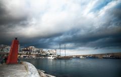 Desde el faro (candi...) Tags: faro barco barcas puerto pueblo cielo nubes agua airelibre sonya77
