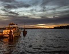 Radiant Yacht (BobbyFerkovich) Tags: yacht clouds water sunset renton lakewashington iphonex
