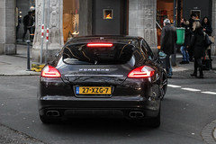 Netherlands - Porsche 970 Panamera Turbo (PrincepsLS) Tags: netherlands dutch license plate germany düsseldorf spotting porsche 970 panamera turbo