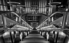 Inside the machine (Norbert Clausen) Tags: ubahn underground subway cologne bw sw