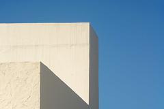 White geometry (Jan van der Wolf) Tags: map1829v white building geometric gebouw gevel fuerteventura wall muren simple simpel geometry geometrisch geometrie minimalism minimalistic minimalisme minimal
