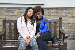 DSC_6672 John Wesley's Chapel City Road London with Alesha from Jamaica and Tricia from Ghana Two Beautiful Ladies (photographer695) Tags: john wesley's chapel city road london with alesha from jamaica tricia ghana two beautiful ladies