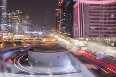 2018年08月25日 - 海運觀點 (JoeHoWin) Tags: 香港 九龍 hk 城市 夜景 bokeh 散景 焦外 濾鏡 慢快門 slow shutter 拉爆 light painting 光影塗鴉 night 夜 燈 景深 lamp 車 車軌 trail