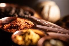 Copper Spice (Window Light Studios) Tags: spices laowa 60mm macro d750 nikon light dof tabletop table spice copper