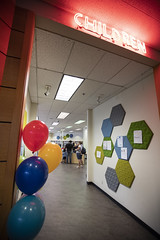 180829_Children's Room renovation celebration01 (PimaCounty) Tags: library mainlibrary childrenslibrary childrensprograms childrensreading celebration librarycelebration libraryremodel libraryrenovation d5 entrance balloons