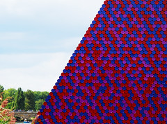 Christo and Jeanne-Claude,  The London Mastaba, Serpentine Lake, Hyde Park (neil mp) Tags: hydepark christo jeanclaude installation serpentine serpentinelake london lake art sculpture barrels mastaba