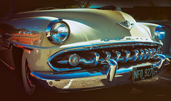 metal mouth (Simon[L]) Tags: teeth toothy grin desoto 1954 semi firedome minoltamd3570mmf35