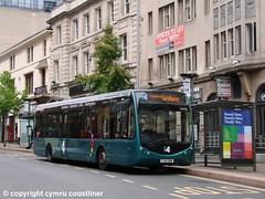 Trent Barton 332 - YJ12 GWN (Cymru Coastliner) Tags: trentbarton optaretemposr 332 yj12gwn bus nottingham i4 wellglade