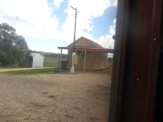 Muckleford, From the train: Castlemaine to Maldon.