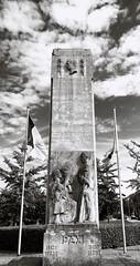 Peace in our time ? (Jon_Wales) Tags: belgium peace pax war memorial kraainem crainhem flanders wwi wwii flag brussels bruxelles