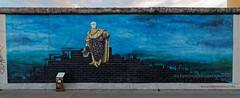 Berlin Wall - East Side Gallery (Pascal Volk) Tags: berlin friedrichshain fhain mühlenstrase berlinfriedrichshainkreuzberg diebeständigkeitderignoranz karstenwenzel eastsidegallery openairgallery denkmal memorialforfreedom berlinwall berlinermauer murodeberlin graffiti streetart urbanart wideangle weitwinkel granangular superwideangle superweitwinkel ultrawideangle ultraweitwinkel ww wa sww swa uww uwa herbst fall autumn otoño canoneos6d irix11mmf40 blackstone 11mm 11mmlens irixlens extremewideangle dxophotolab