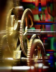 Time keeps on Slippin (johnsinclair8888) Tags: cogwheel macromondays slidersundays johndavis nikon d750 macro composite affinityphoto stackedfocus color art artistic gears clock