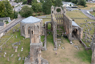Elgin Cathedral From The Top