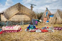 Uros (chayawita) Tags: uros titicaca puno perú islaflotante canonistas canon travel artesana colores