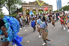 DSC_8165 (photographer695) Tags: notting hill caribbean carnival london exotic colourful costume girls dancing showgirl performers aug 27 2018 stunning ladies