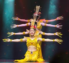 DAG_8899r (crobart) Tags: thousand hand bodhisattva eyes yate dance acrobatic team chinese china canadian national exhibition cne 2018 toronto