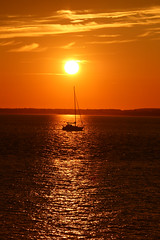 Sailing in the Sunset (pshep1) Tags: sunset sea yacht sky sun tranquil solent cowes isleofwight greatbritain uk unitedkingdom