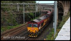 ECR 66 (11/2012) (aarongilp) Tags: agp aarongilp tren train treno zug comboio freight fret merchandises mercancías mercaderies mercadoiras ecr euro cargo rail db schenker cerbère class 66 247 66247 emd