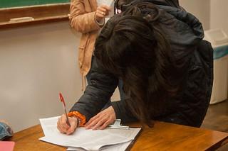 Reunião do Probem para orientação aos estudantes