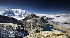 Chamonix skyline (Kevin.Grace) Tags: france chamonix mountains mont blanc snow landscape glacier