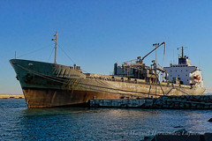 ADRIATIC ARROW - IMO 7231139 (Socaire) Tags: adriaticarrow 7231139 scrapped grounded cementcarrier totalloss valenciaport gadani