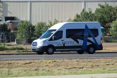Arizona Shuttle #820 (ashman 88) Tags: arizonashuttle ford transit van fordtransit shuttle bus shuttleservice groome