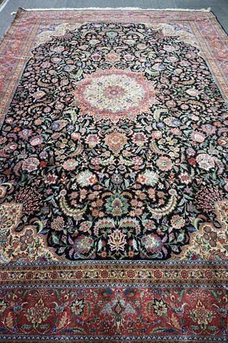 finely woven Persian room size rug ($644.00)