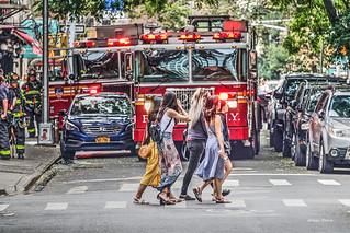 a stroll in New York