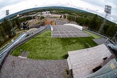 Ski jumping area (Håkan Dahlström) Tags: 2018 backhoppning dalarna falun jump lugnet photography ski sweden dalarnaslän xt1 f10 1340sek 8mm cropped 46424082018135052 järlindenbojsenburg se