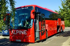 Hughes, Llandudno - AP60 ALP (peco59) Tags: ap60alp volvo b9r b9 plaxton panther2 panther hughesllandudno alpinetravel alpinecoaches psv pcv coach