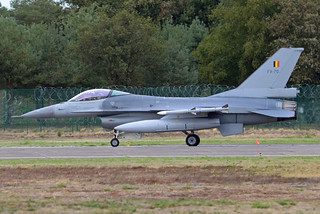 Belgium - Air Force General Dynamics F-16AM Fighting Falcon FA-70