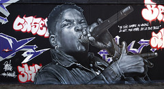 La blanche colombe qui n'a plus d'ailes nous a tous répudiés (HBA_JIJO) Tags: streetart urban graffiti art france hbajijo wall mur painting alex peinture portrait music urbain akhine musique vitry paris94 vitrysurseine rap paroles