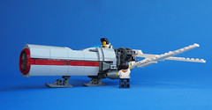 Dragonfly (David Roberts 01341) Tags: lego skyfi scifi future dieselpunk technic flyingmachine aeroplane airplane air sky toy