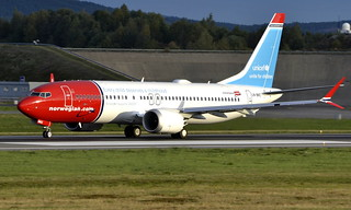 Norwegian LN-BKC, OSL ENGM Gardermoen