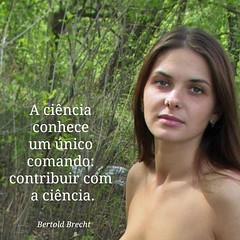 (belasfrases) Tags: frases belas natureza naturismo nudismo citações citacoes ciencia comando