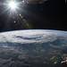 Hurricane Florence as it was making landfall