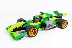 "Nya's Formula - LEGO Ninjago 70641 Alternate MOC (""grohl"") Tags: f1 formula racing race racer racecar fast action shooting flying flyer 70641 lego ninjago 2018 grohl666 grohld fun cool speed technic"