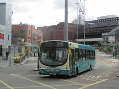 Arriva North West 2928 CX58FZK Queen Sq Bus Stn, Liverpool on 58 (1280x960) (dearingbuspix) Tags: arriva arrivanorthwest cx58fzk 2928