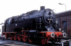 95 1027  Greiz  23.09.90 (w. + h. brutzer) Tags: greiz eisenbahn eisenbahnen train trains deutschland germany railway dampfloks steam lokomotive locomotive zug db dr dampflok webru analog nikon 95