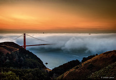 Morning Fog (Explored) (Joseph Greco) Tags: goldengatebridge sanfrancisco fog marinheadlands marincounty