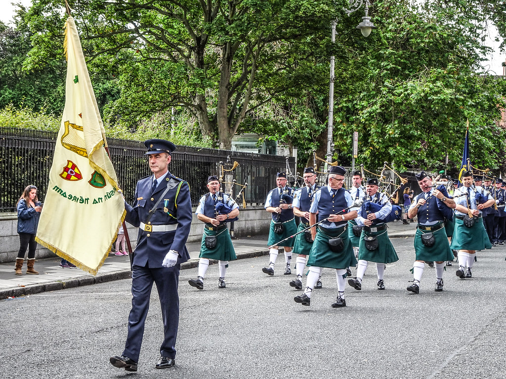 NATIONAL SERVICES DAY [PARADE STARTED OFF FROM NORTH PARNELL SQUARE]-143666