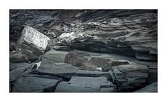 rock study #4 (ciollileach) Tags: landscapephotography geology rocks coastalphotography cornwall colour stone grey naturalpalette tidal sea ocean nature texture oceancapture