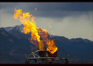Flaming Pike's Peak